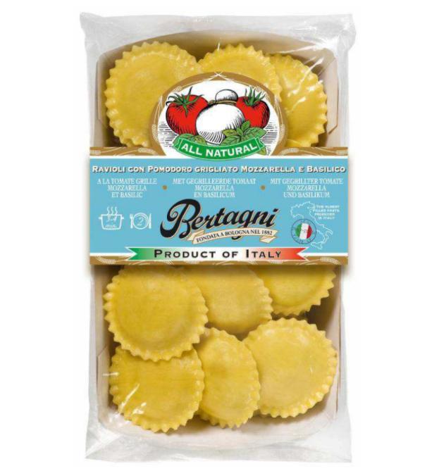 Ravioli Tomate Mozza & Basilic, Bertagni (250 g)
