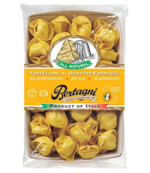 Tortelloni 4 fromages, Bertagni (250 g)