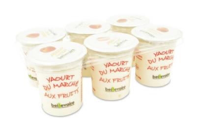 Yaourt du marché abricot, Beillevaire (x 6)