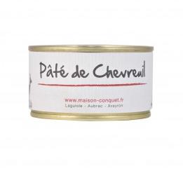 Pâté de Chevreuil, Maison Conquet (130 g)