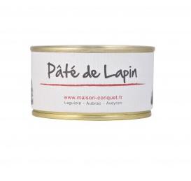 Pâté de Lapin, Maison Conquet (130 g)