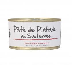 Pâté de Pintade au Sauternes, Maison Conquet (130 g)