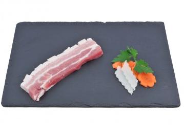 Poitrine de Porc à Griller Tranchée (x4 tranches, environ 450 - 550 g), Maison Conquet