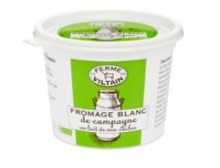 Fromage blanc de campagne, La ferme de Viltain (500 g)
