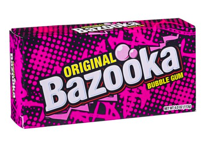 Chewing gums, Bazooka Original (113 g)