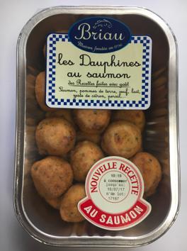 Pommes dauphine au saumon, Maison Briau (500 g)