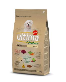 Croquettes pour mini chiens à l'agneau, Ultima (1,25 kg)
