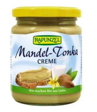 Pâte à tartiner amande Tonka BIO, Rapunzel (250 g)