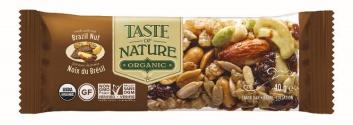 Barre de céréales aux noix du Brésil BIO, Taste of Nature (40 g)