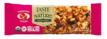 Barre de céréales à la grenade BIO, Taste of Nature (40 g)