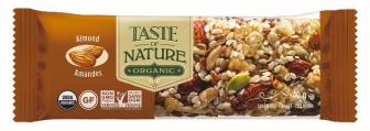 Barre de céréales à l'amande BIO, Taste of Nature (40 g) #13357