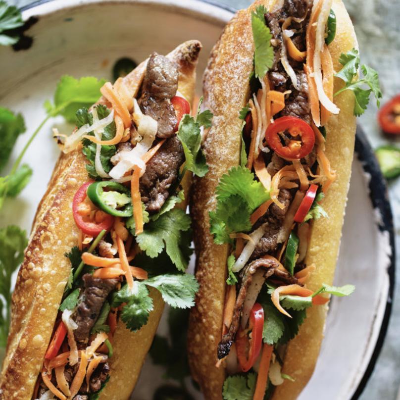 Kit banh mi, 2 sandwichs vietnamiens ultra frais !