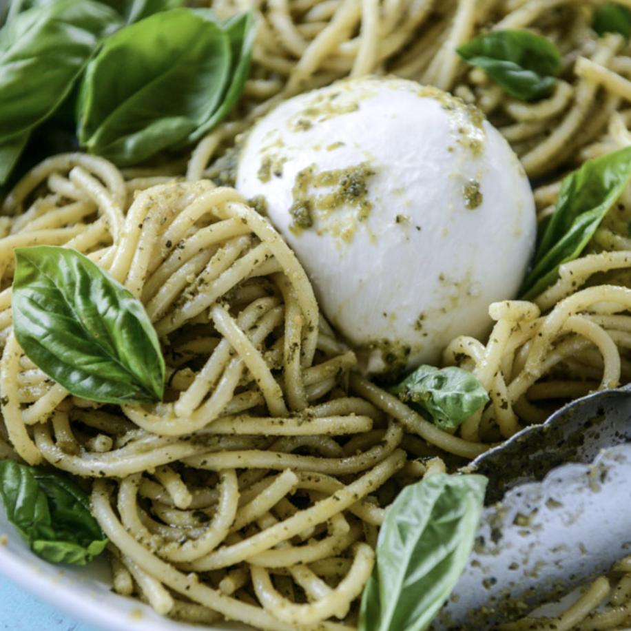 Kit spaghettis au pesto et burrata crémeuse (pour 2)