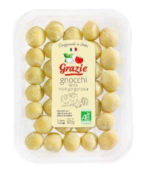 Gnocchi Noix et Gorgonzola BIO, Grazie (300 g)