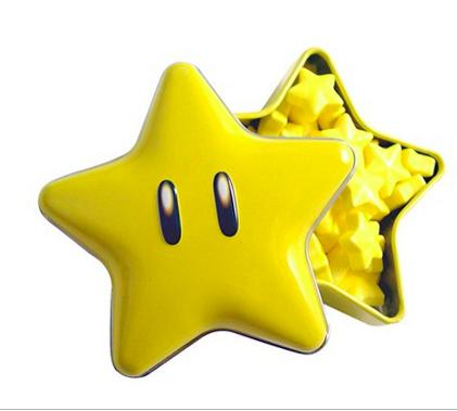 Bonbons acidulés étoiles, Nintendo Super Mario Bross (34 g)