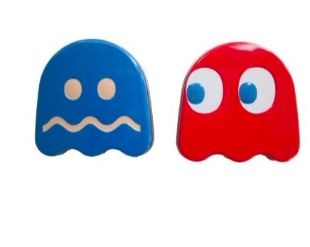Bonbons cerise ou framboise bleue, Fantôme Pac Man (28 g)