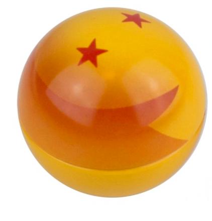 Bonbon fruité, boule de cristal Dragon ball Z (34 g)