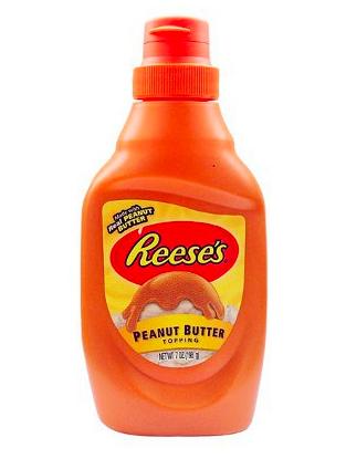 Coulis au beurre de cacahuète, Reese's (198 g)