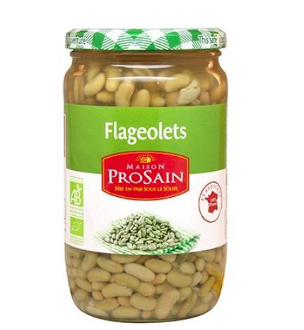 Flageolets 100% France préparés BIO, Prosain (660, 425 g)