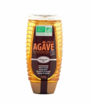 Sirop d'agave BIO en flacon (335 g)