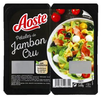 Pétales de jambon cru, Aoste (100 g)