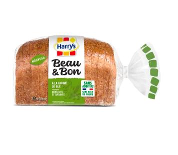 Beau & Bon farine de blé céréales et graines, Harry's (320 g)