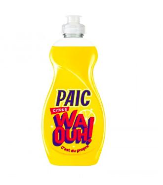 Liquide vaisselle Waouh senteur Citron, Paic (500 ml)