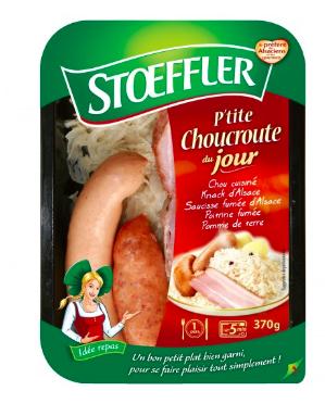 Petite choucroute du jour, Stoeffler (370 g)