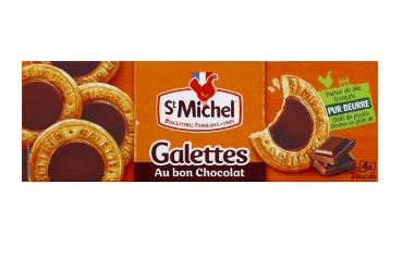 Galette au bon chocolat, St Michel (121 g)