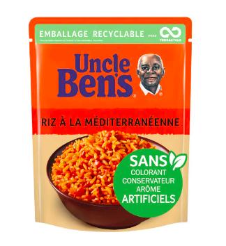 Riz à la méditerranéenne express 2 min, Uncle Ben's (250 g)