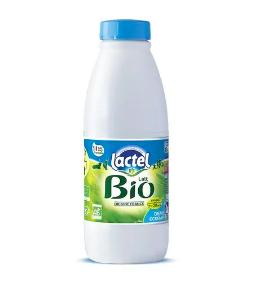 Lait demi-écrémé BIO, Lactel (1 L)