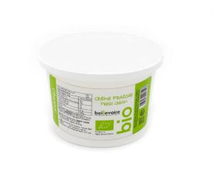 Crème 40% BIO, Beillevaire (25 cl)