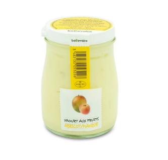 Yaourt à l'ancienne aux fruits abricot mangue, Beillevaire (180 g)
