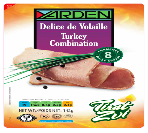 Délice de volaille, Yarden (142 g)