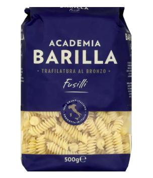 Fusilli 8 minutes academia, Barilla (500 g)