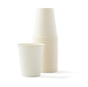 Gobelet blanc en papier 18 cl (x 50)