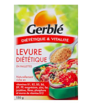 Levure de bière diététique en paillettes, Gerblé (150 g)