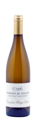 Thulon Blanc - 2018 - AOP Beaujolais Villages Domaine de Thulon (75 cl)