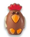 Mini oeuf de poule au chocolat au lait, Chocolaterie Schaal (25 g)