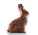Mini lapin guetteur en chocolat au lait, Chocolaterie Schaal (8,6 g)