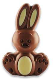 Bunny en chocolat au lait, Chocolatier Schaal (60 g)