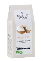 "Préparation ""Carrot cake"" Bio, Marlette"