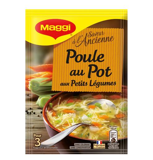 Soupe poule au pot déshydratée, Maggi (75 cl)