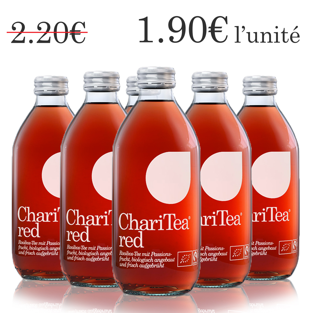 ChariTea red (6 x 33 cl)