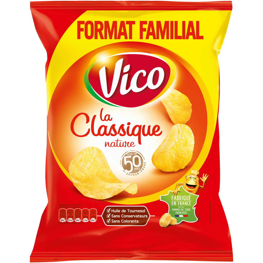 Chips classique, Vico (270 g)