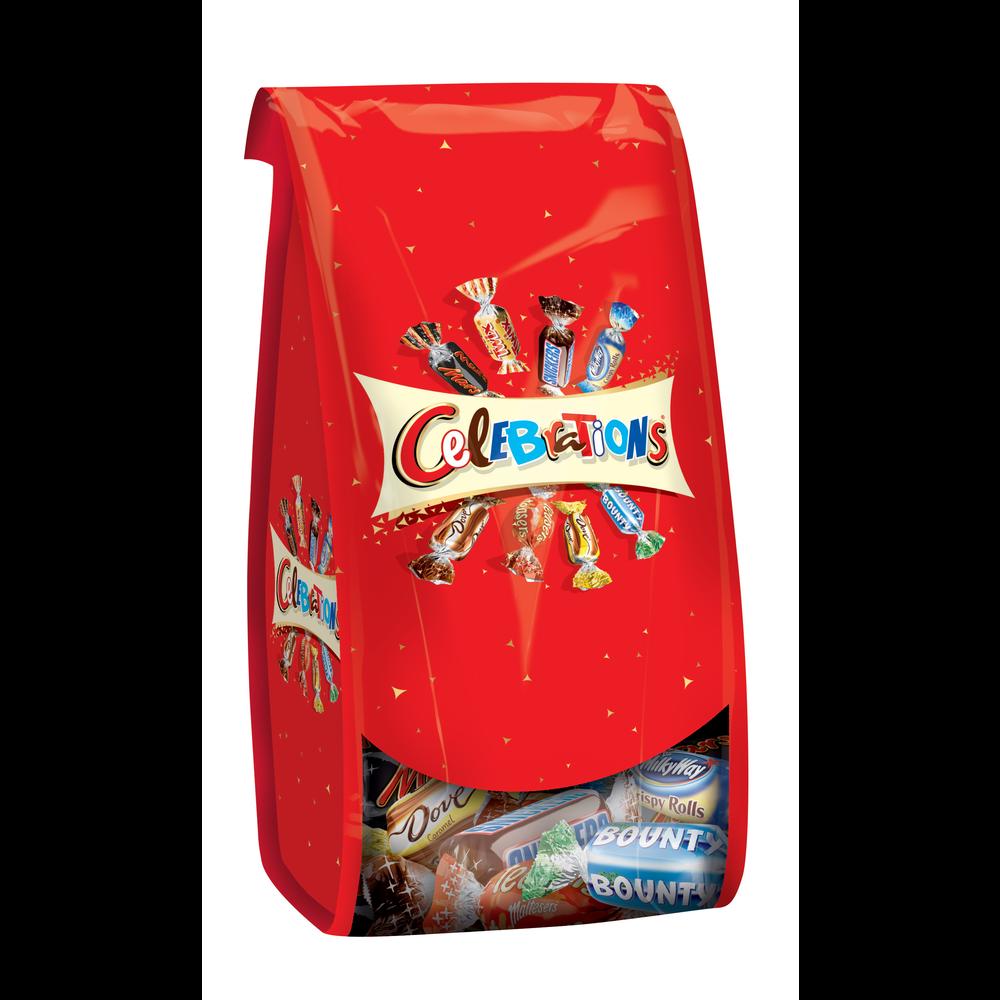 Chocolats assortis, Célébrations (196 g)