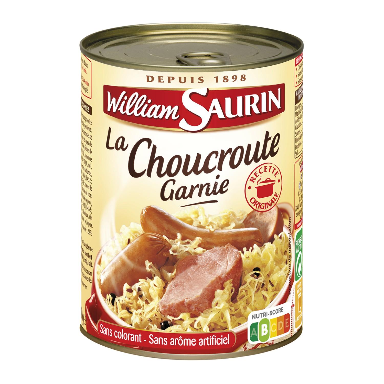 Choucroute garnie, William Saurin (400 g)