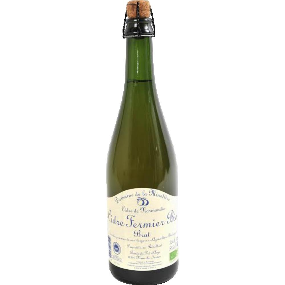 Cidre brut BIO, Domaine de la Minotière (75 cl)