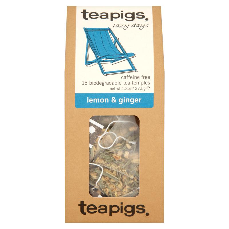 Infusion citron gingembre, Teapigs (x 15 sachets)