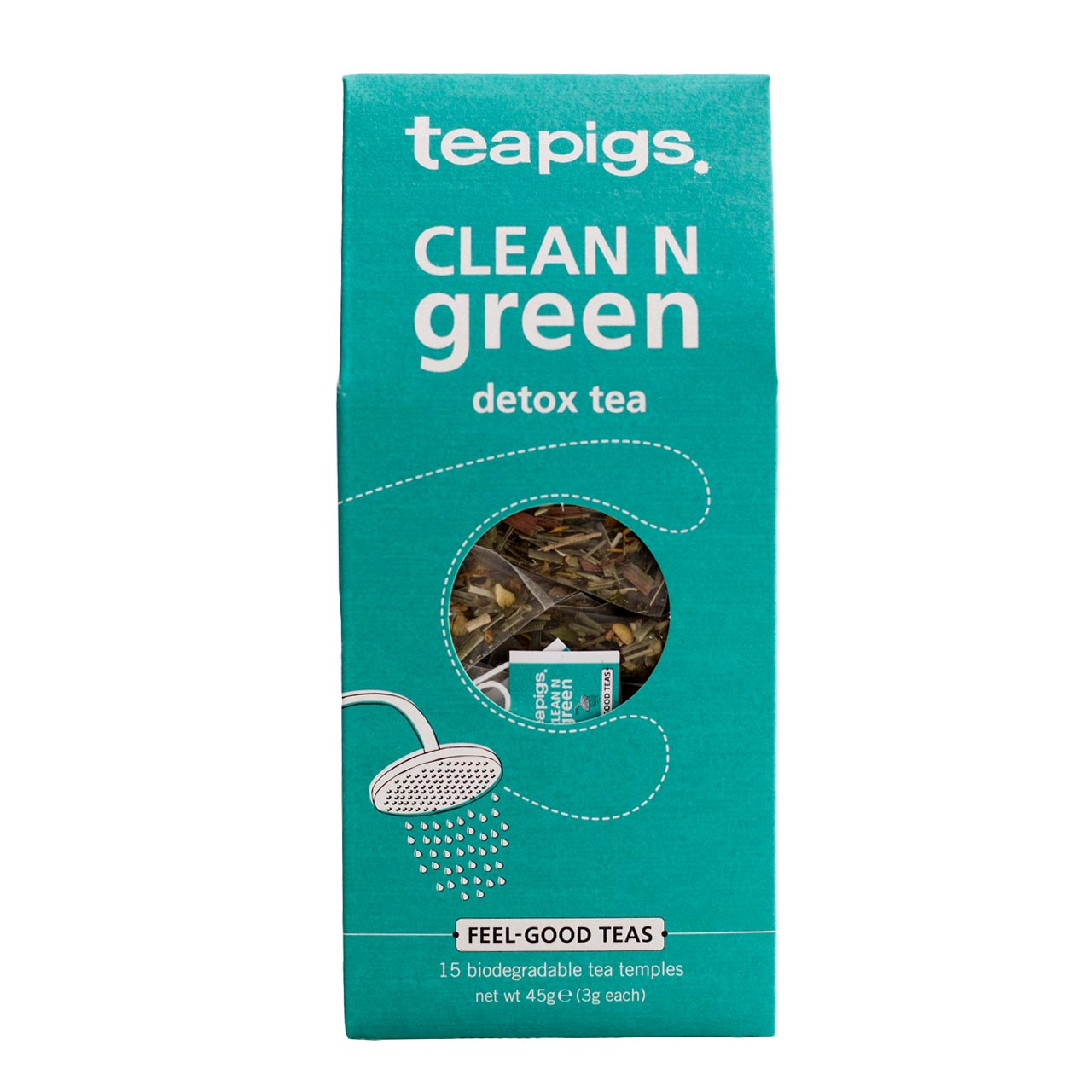 Infusion detox Clean N Green, Teapigs (x 15 sachets)